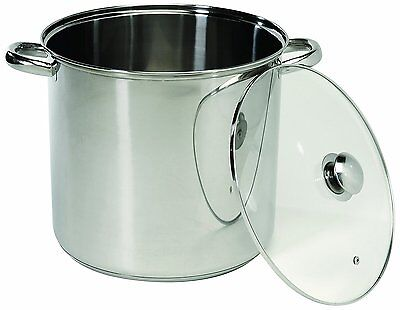 20 QUART Stainless Steel Crock steam Stockpot Encapsulated Base ExcelSteel 551