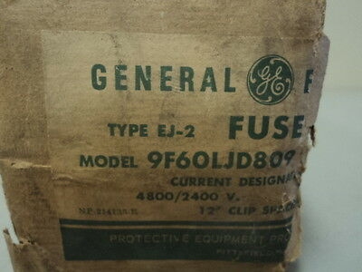 New General Electric Ge 9F60Ljd809 Ej-2 Motor Contactor 4800/2400 V Amp Fuse