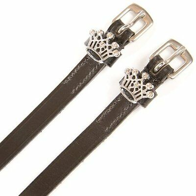 HyCLASS Diamante Spur Straps - crown