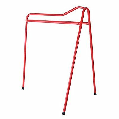 Shires Collapsible Saddle Stand: Red