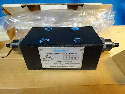 DOUBLE A * Flow Control  * NNYYC-5P-10C1 * MAX 315 BAR 4570 PSI * NEW in BOX