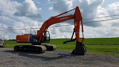 2008 Hitachi ZX240 LC-3 Excavator Turbo Diesel Track Hoe Hydraulic Construction