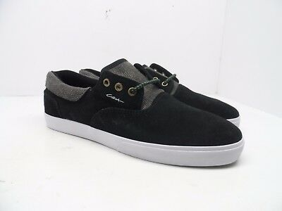 58599995a4b3 C1RCA MEN S 50 Lopez Athletic Fashion Skate Shoe Black Black Oak ...