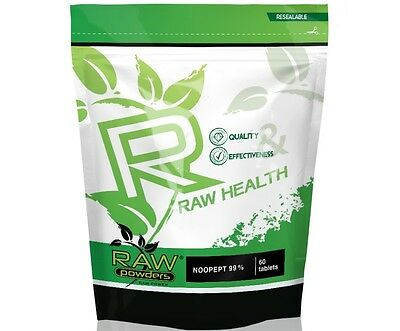 RAW Pwd. - 60 tab 30 mg - Best vitamins for brains!