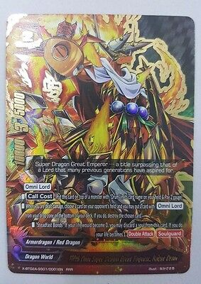 Ziun FOIL BuddyFight X2-BT01A-SP//0003EN RRR Freak-Wrist Beast Lord