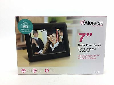 "Aluratek 7"" Digital Photo Frame w/ Auto Slideshow 