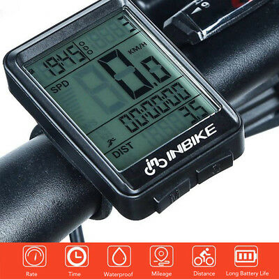 Bicycle Wireless Computer Backlight Speedometer Sport Cycling Odometer 321 CS534