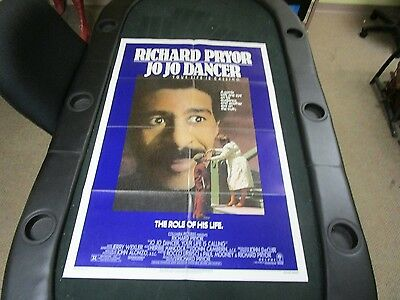 One sheet Movie Poster Jo Jo Dancer, Your Life Is Calling Richard Pryor 1986