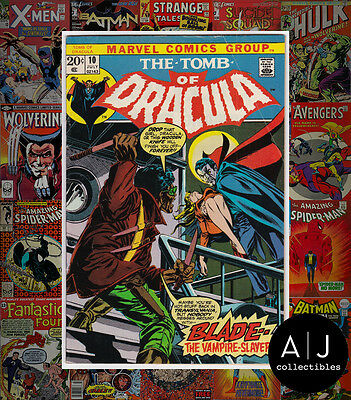 The Tomb of Dracula #10 (W Marvel B) FN+! HIGH RES SCANS!