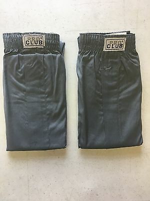 New Without Packaging Men's ProClub Boxer Trunks - 2 pack - Small to 7XL - Gray