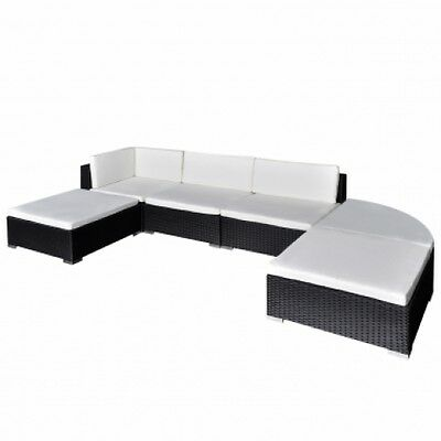 Outdoor Lounge Sofa Set 16 Piece Garden Furniture Rattan Seater Lounger  Patio
