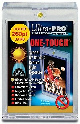 260pt ONE-TOUCH MAGNETIC CARD HOLDER - ULTRA PRO SPECIALTY SERIES