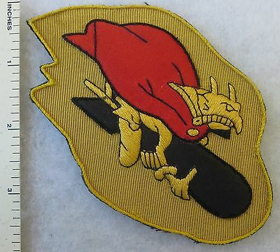 """/""""Barking Devils/"""" 385th Bomb Group WWII US Badge Patch 549th Bomb Squadron"""