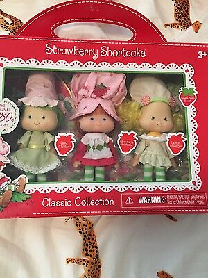 Strawberry Shortcake Classics Re-issue Strawberry, Lemon, Lime