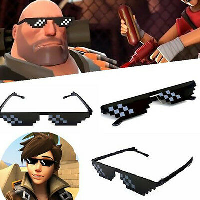 Hot Sell Glasses Thug Life 8 Bit Pixel Deal With IT Sunglasses Unisex Sunglasses