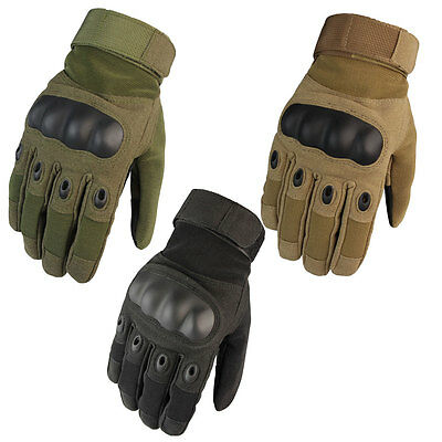 Motocycle Tactical Airsoft Paintball Shooting Gloves Full Finger Men's Gloves