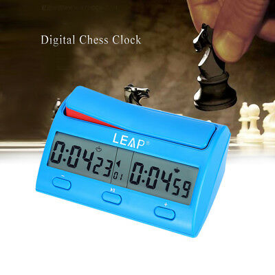 LEAP PQ9912 Compact Digital Clock Count Down Timer For Chess Antique Style