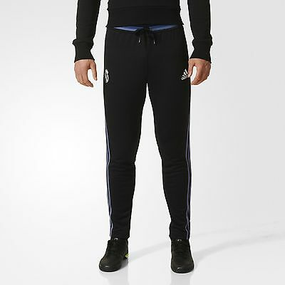 adidas Real Madrid Soccer Pants Men's Black