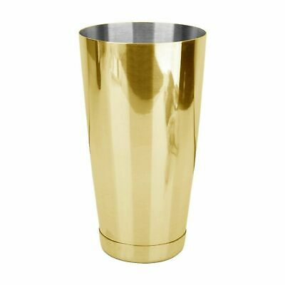 NEW Uber Boston Shaker Cup Glass Bar Tool Cocktail Drink Margarita Shaker Gold