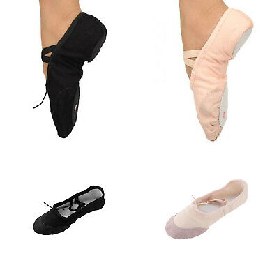 Girl Kid Adults Nice Ballet Yoga Dance Shoes Fit Gymnastics Dance Shoes Canvas