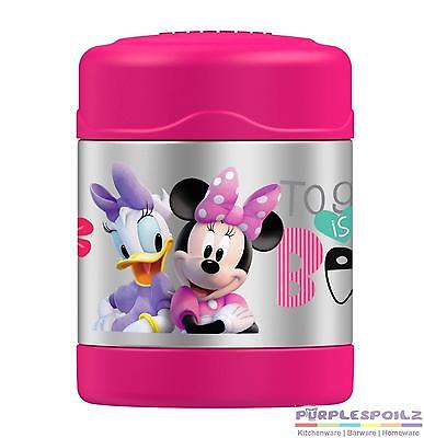 NEW THERMOS FUNTAINER FOOD CONTAINER 290ml Jar Insulated MINNIE MOUSE