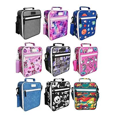 NEW SACHI LUNCH TOTE Insulated Bag School Warm Cold Handle 8 DESIGNS