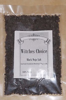 Black Salt spell negative energy spells Wicca healer spirit smudge protection