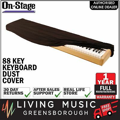 NEW On-Stage Stands 88 Key Keyboard Dust Cover (Black)