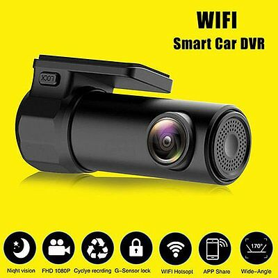 Wireless HD 1080P Wifi Car DVR Vehicle Camera Video Recorder Cam Night Vision SM