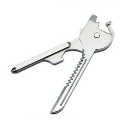 SWISS+TECH Utili-Key 6-in-1 Key Ring Chain Multi Rostfrei Steel Pocket Tool
