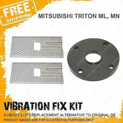 "Vibration Fix Kit TAILSHAFT SPACER and WEDGES MITSUBISHI TRITON ML MN 2"" Lift"