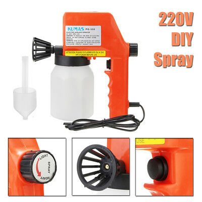 Electric Airless Paint Spray Gun Airless House Fence Sprayer Painting Tools New