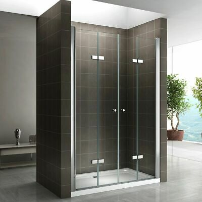 duscht r faltt r nischent r duschabtrennung dusche 70cm 120cm glas sc007 185 195 eur 179 99. Black Bedroom Furniture Sets. Home Design Ideas