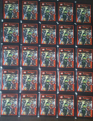 Lego® Ninjago™Movie Sticker 25 Tüten Booster - 125 Bilder Neu und OVP