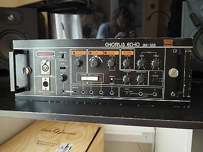 Roland SRE 555 Chorus Echo - Serviced & working - Rare UK voltage