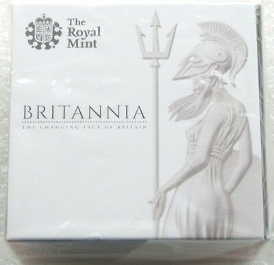 2014 British Royal Mint Britannia £1 One Pound Gold Proof Coin Box Coa Sealed