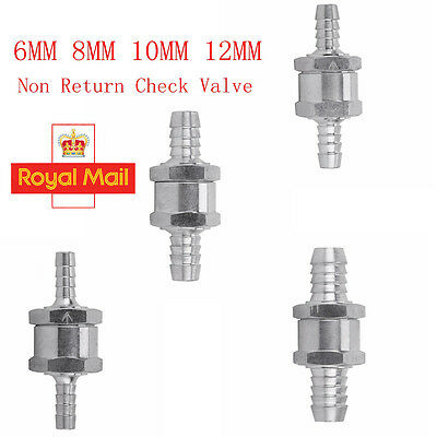 6Mm/8Mm/10Mm/12Mm One Way Fuel Non Return Check Valve Petrol And Diesel Oil