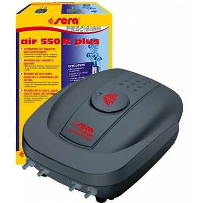 sera air 550 R plus Luftpumpe Membranpumpe f Aquarium Aquariumbelüfter Aquarien