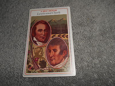 Big Boy Collector Card - 1975 # 21 Lewis And Clark