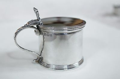 Solid Silver  Mustard Pot William Comyns & Sons London 1927