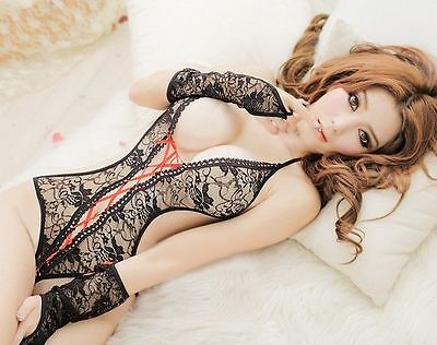Lace Women New Sexy Babydoll Lingerie Lace Dress Underwear Sleepwear G-string