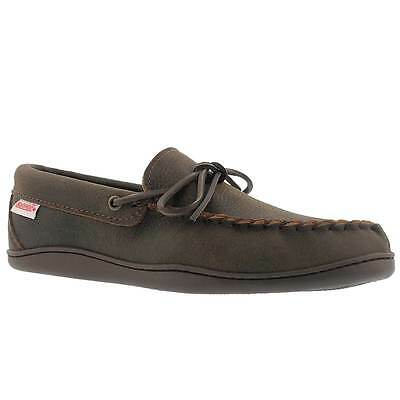 SoftMoc Men's Rubber Sole Bomber Jacket Moccasin