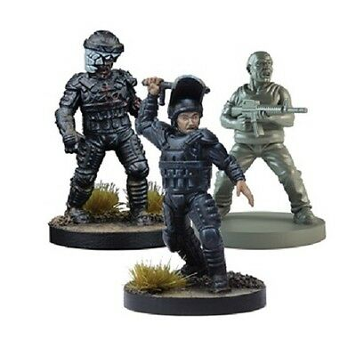 The Walking Dead All Out War - Glenn, Prison Guard Booster  - Mantic - In Stock