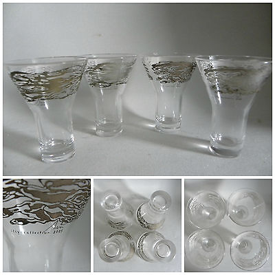 Illy 4 Glass Ice Coffee Serse Roma 2005 Cups Collection Tazzine Thun Design