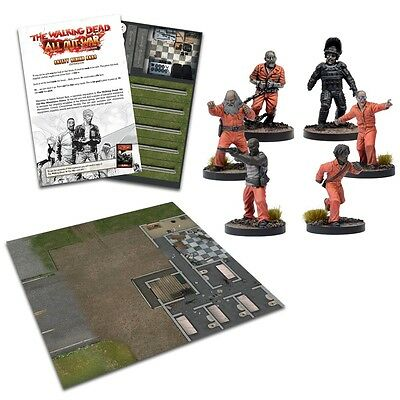 The Walking Dead All Out War - Safety Behind Bars Expansion - Mantic - In Stock