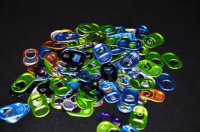100 Monster Energy Drink Tabs - Soda Can Pop Tops - Pull Tabs - for MONSTER GEAR