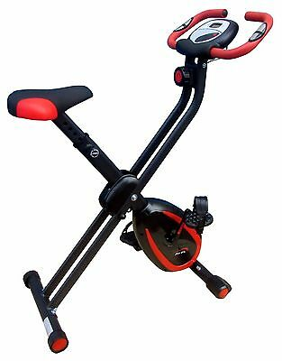 XerFit™ Folding Magnetic Exercise Bike - cycle fitness cardio workout home