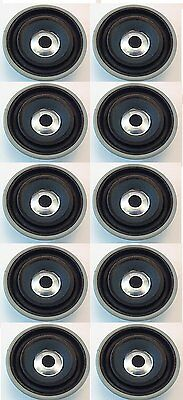 "10 PACK - 4.5"" ROUND FULL RANGE SPEAKER 40W - 16 OHM 10oz MAGNET # ZBL39315-10PK"