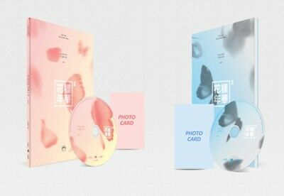 BTS 4th Mini Album [In The Mood For Love] PT.2 [2Ver SET] CD+Photobook+Photocard