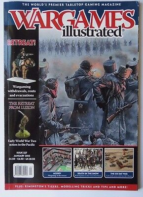 Wargames Illustrated - Issue 327 January 2015 - Retreat!
